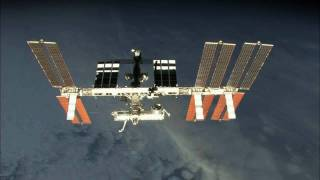 ISS fly around, HD