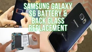 Replace Your Samsung Galaxy S6 Battery & Glass Step By Step Guide