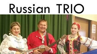 Russian Balalaika Duo Concert in Fort Lee Public Library, Fort Lee, NJ Part 01