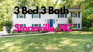 🚨 Just Listed🚨 Great 3 bed 3 bath-161 Knollwood Drive, Stoneville, NC 27048