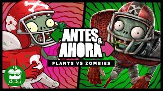 Antes y Ahora Plantas vs Zombies   AtomiK.O. #134