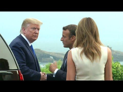 Во французском Биаррице официально стартовал саммит G7.
