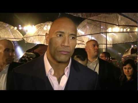 Dwayne 'The Rock' Johnson Interview - G.I. Joe Retaliation Premiere