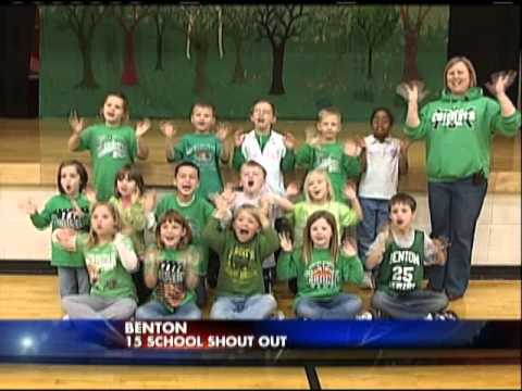 School Shout Out 01/17/2012 Benton Elementary School, Monroe