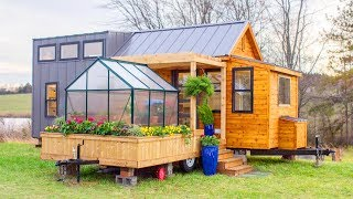 Absolutely Gorgeous The Elsa By Olive Nest Tiny Homes | Living Design For A Tiny House