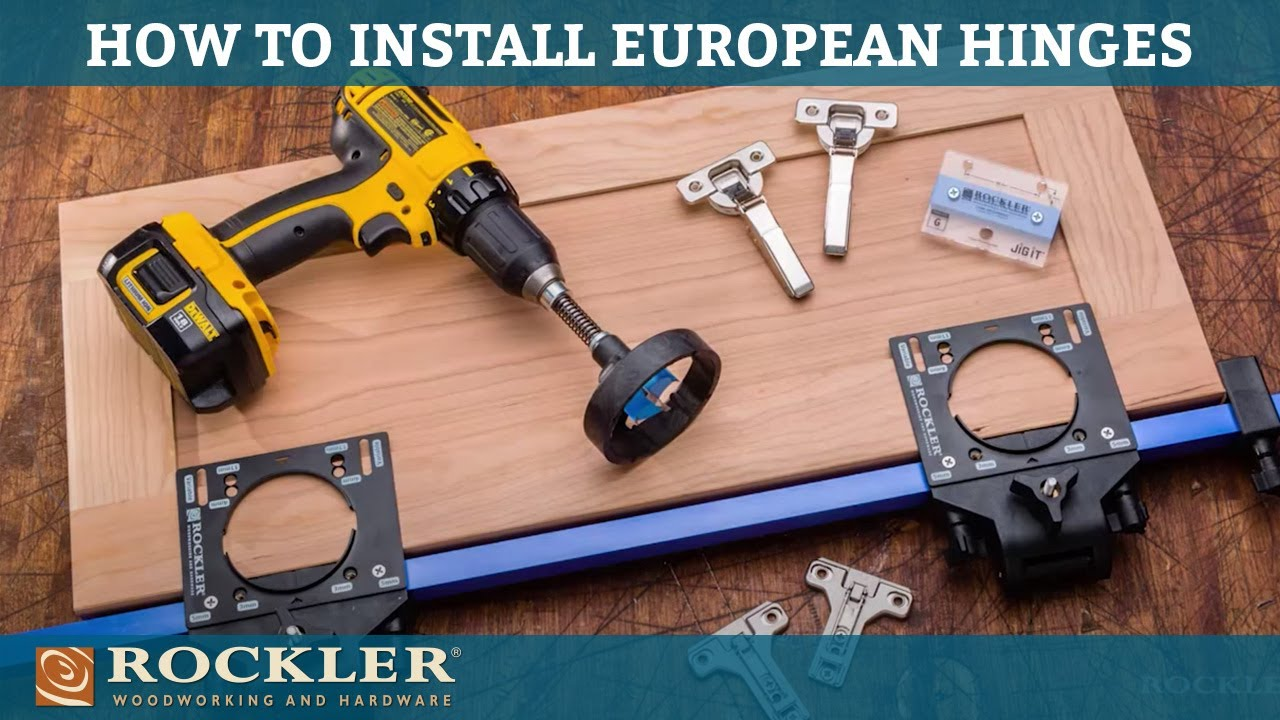 Jig It Deluxe Concealed Hinge Drilling System Youtube
