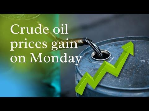 Crude Oil Prices Gain On Monday