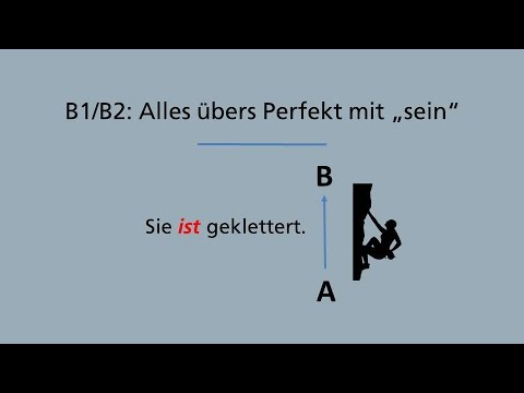 """B1/B2 - Alles übers Perfekt mit """"sein"""""""