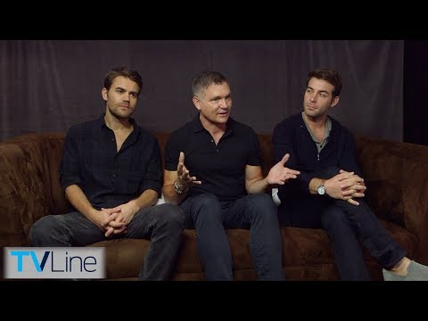 'Tell Me A Story' Cast Interview | Comic-Con 2018 | TVLine