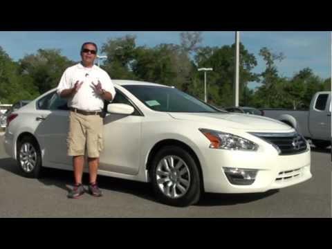 2013 Nissan Altima Sedan 2 5 S White C119729 Youtube