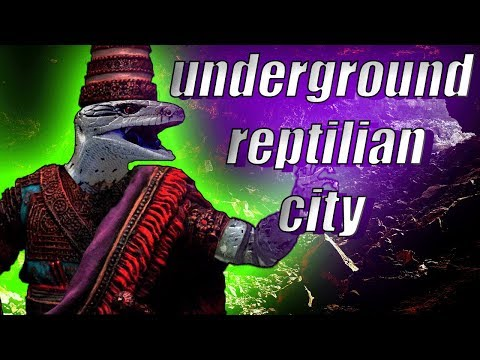 Underground City of the Lizard People
