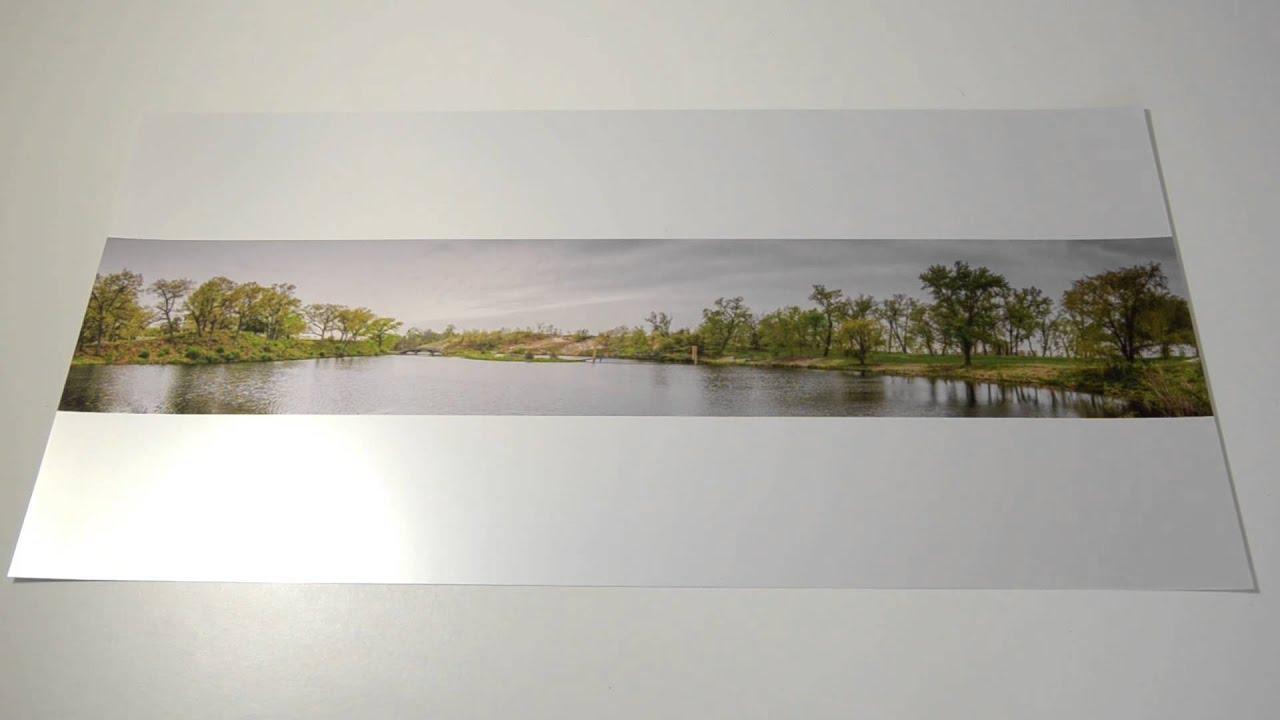 Adoramapix 10x20 Panorama Print on Metallic Paper - YouTube