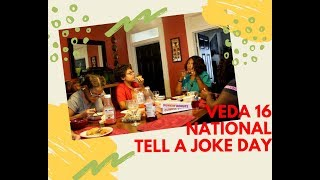 National Tell A Joke Day | VEDA Challenge Day 16