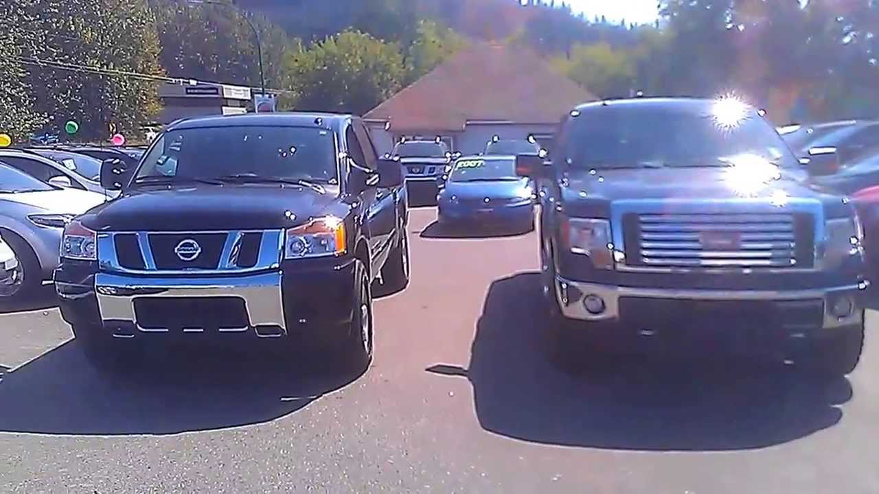 Nissan Titan VS Ford F150