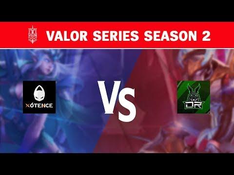 Valor Series Season 2 Week 3 Day 1 VODs & Highlights