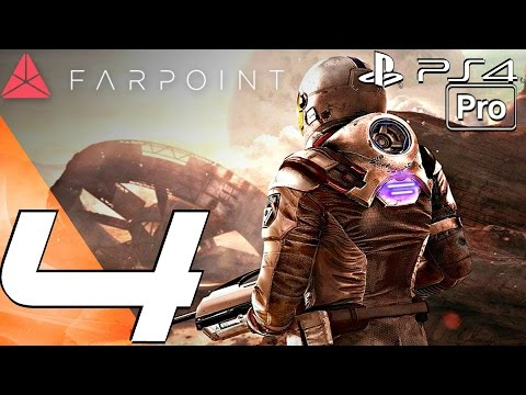 FARPOINT - Gameplay Walkthrough Part 4 - The Aliens & Wormhole (PS4 PRO)