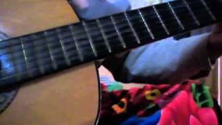 Quê hương tuổi thơ tôi - guitar live