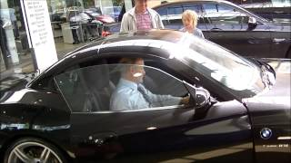 Taking delivery of the BMW Z4