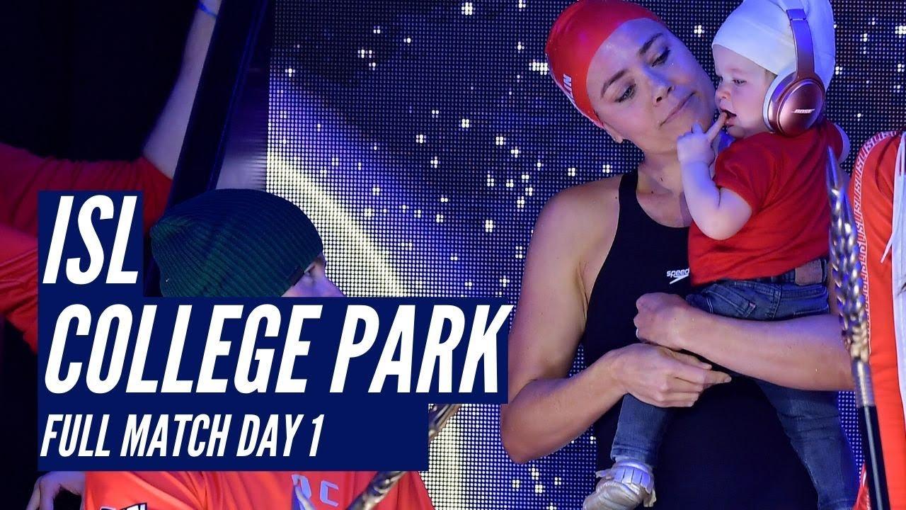 ISL College Park Full Match Day 1