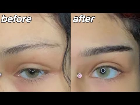 Straight Eyebrow Tutorial thumbnail