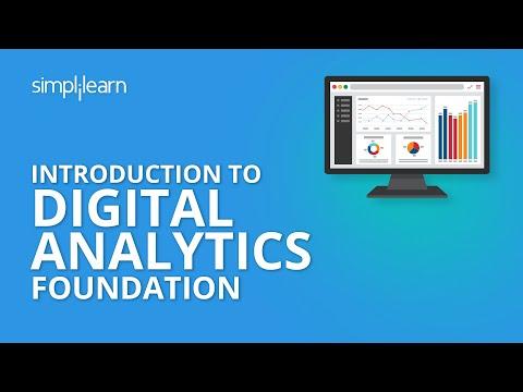 Introduction to Digital Analytics Foundation | Simplilearn