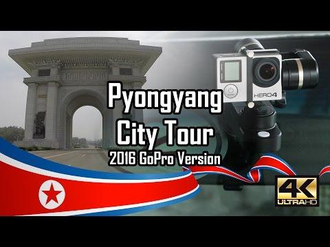 City Tour of Pyongyang 2016 July - GoPro & Feiyu Tech Version