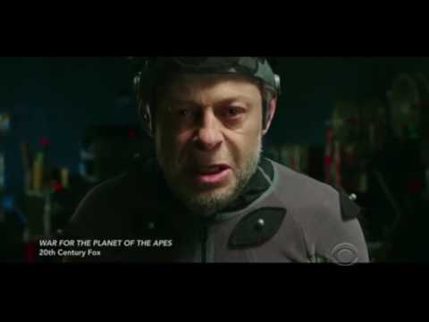 Actor into CGI (awesome) Andy Serkis War for planet of the apes