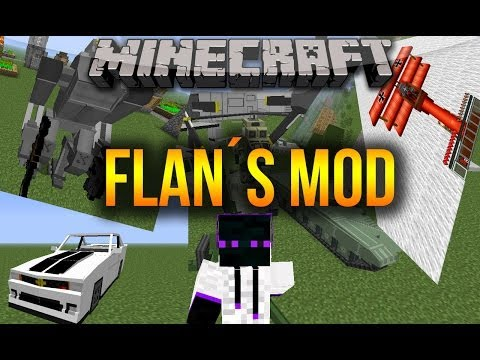 Minecraft 1.7.10/1.7.2 - Como descargar e instalar Flan´s MOD (Aviones y armas) ...