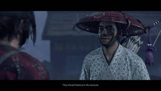 """Ghost of Tsushima - The Iron Hook: Yuna """"Some of Them Are Calling You The Ghost"""" Cutscene PS4 (2020)"""
