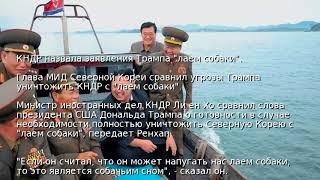 "КНДР назвала заявления Трампа ""лаем собаки"""