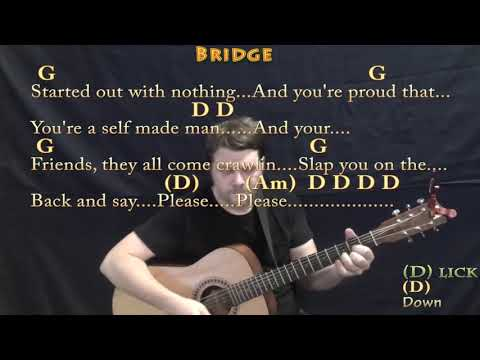 Stuck In The Middle (Stealers Wheel) Guitar Cover Lesson with Chords/Lyrics - Munson