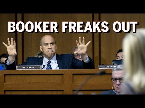 Cory Booker Freaks Out On DHS Secretary Kirstjen Nielsen Over Trump Comments (REACTION)