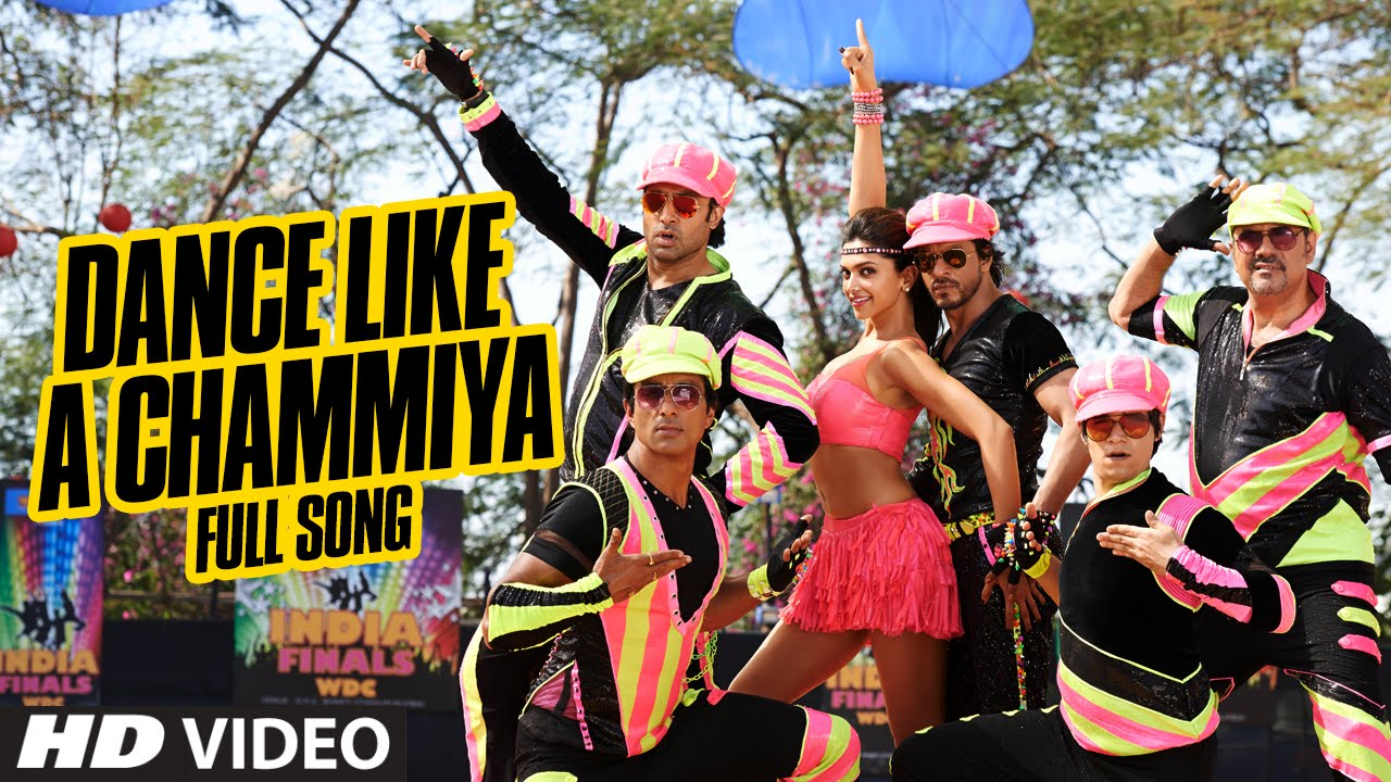 official dance like a chammiya full video song happy new year shah rukh khan youtube