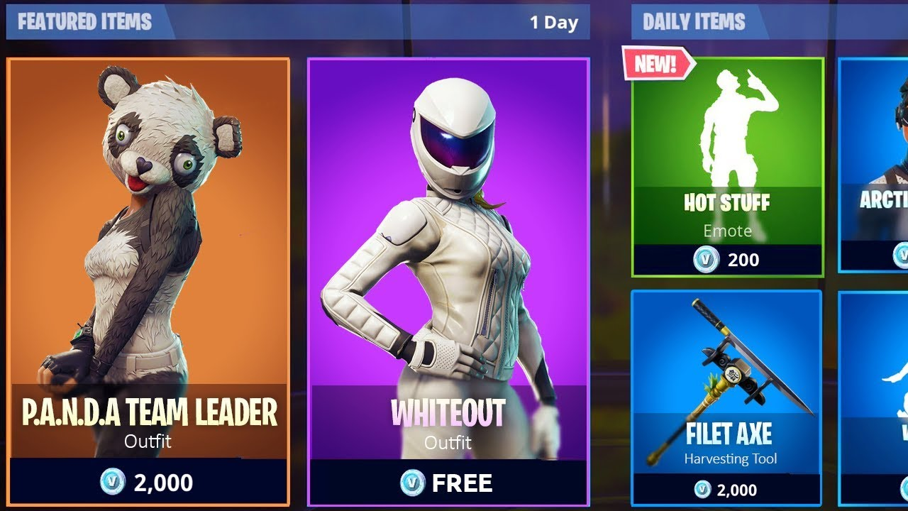 All New Item Shops Leaked In Fortnite New Skins Emotes More Fortnite Battle Royale