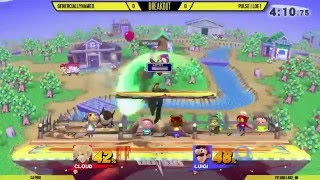 Breakout #1: GenerciallyNamed (Cloud) vs Pulse|LOE1(Luigi/Mac/Pit)