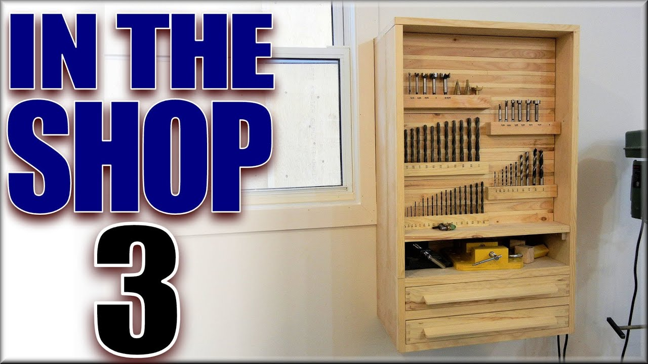 The Drill Press Cabinet - YouTube
