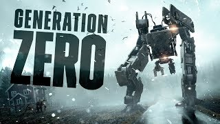 AND WHEN WE WOKE UP.. THEY DESTROYED US ALL - Generation Zero Closed Beta Gameplay