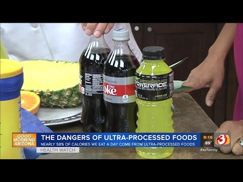 The dangers of ultra processed foods