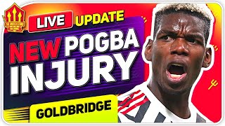 Pogba Injury Blow! Haaland Transfer Update! Man Utd News