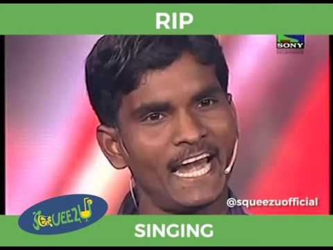 Funny singing Indian idol audition of Rajendra Prasad