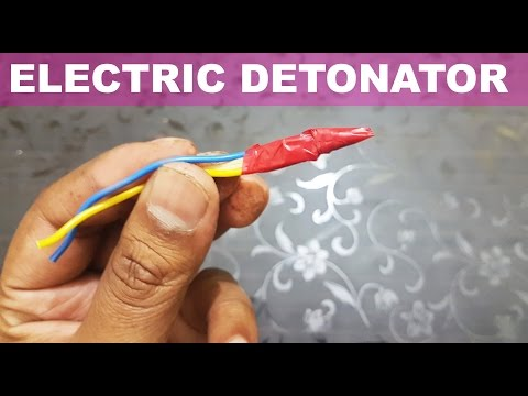How To Make Electronic Detonator Easy Way