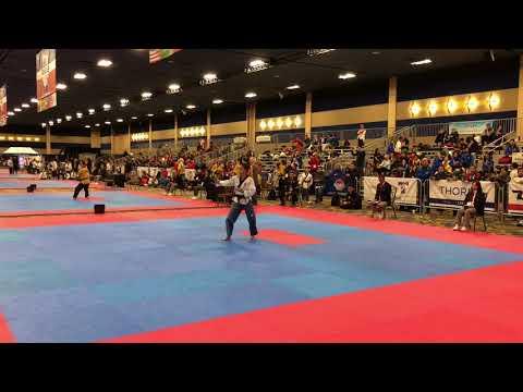 2018 U.S. Open Taekwondo Championships Poomsae Highlights- Mexico TKD Power