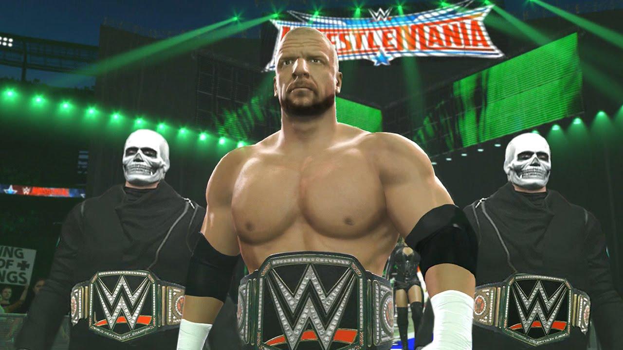 Wwe Triple H Logo 2016