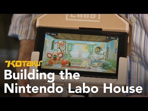Building The Nintendo Labo House