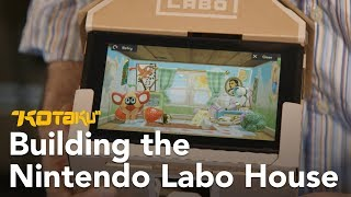 Building The Nintendo Labo House