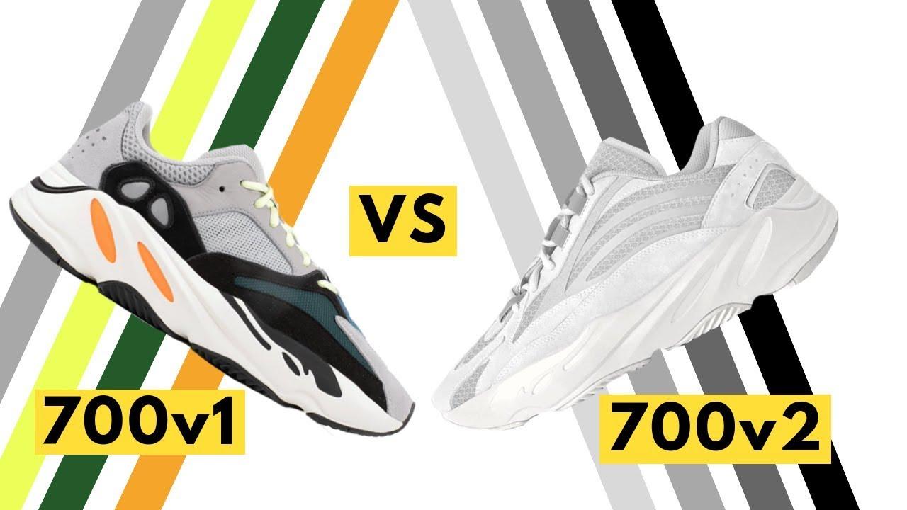 Adidas Yeezy 700 Waverunner versus