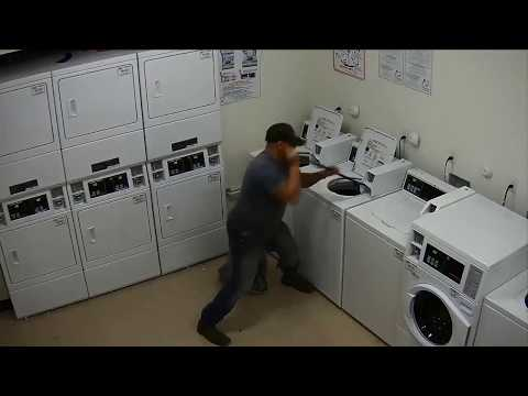 Fort Worth PD looks to ID man who pried open laundry machines, just to steal $25