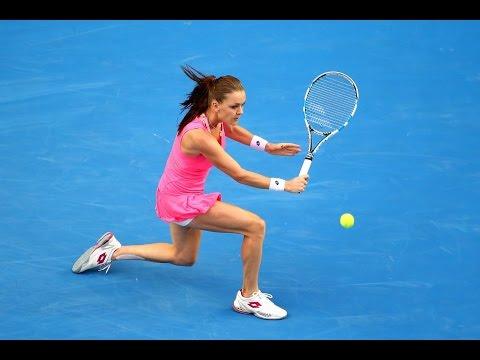 Agnieszka Radwanska vs Monica Puig Australian Open 2016 Highligths