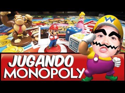 SUFRO CON LOS MALOS MALOSOS / JUGAMOS MONOPOLY GAMER