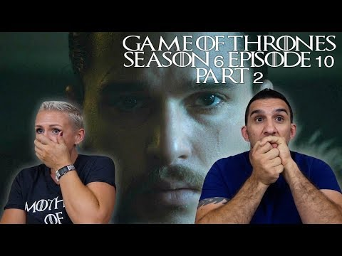 Game of Thrones Season 6 Episode 10 'The Winds of Winter' Part 2 REACTION!!